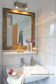 badezimmer statue buddha spiegel