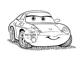 High Quality Free Printable Disney Cars Cartoon Coloring Books For Kids