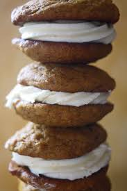 Pumpkin Whoopie Pies Gluten Free by Pumpkin Whoopie Pies With Cream Cheese Frosting Recipe The Buggy