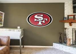 San Francisco 49ers Logo Fathead Wall Decal