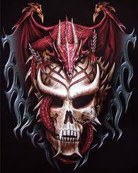 Chinese Dragon Skull