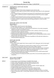 Software Trainer Resume Samples | Velvet Jobs Software Engineer Developer Resume Examples Format Best Remote Example Livecareer Guide 12 Samples Word Pdf Entrylevel Qa Tester Sample Monstercom Template Cv Request For An Entrylevel Software Engineer Resume Feedback 10 Example Etciscoming Account Manager Disnctive Career Services Development And Templates