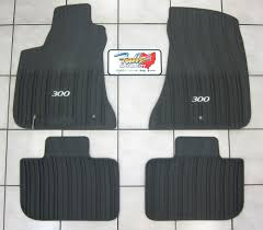 Jeep Commander Floor Mats Oem by 2011 2017 Chrysler 300 Rwd All Weather Rubber Slush Mats Floor