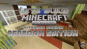 Minecraft Xbox 360 Living Room Designs by Lets Build Minecraft Xbox 360 Edition Interior Design Bedroom