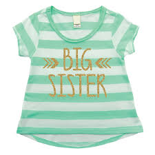 Amazon.com: Bump And Beyond Designs Little Sister Shirt, Baby Girl ...
