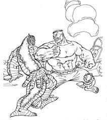 Hulk Godzilla Coloring Pages