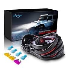 MICTUNING LED Light Bar Wiring Harness Off Road 40 A Relay ON-OFF ... Dc1224v 18w 4inch 5d Lens Floodspot Beam Off Road Led Light Bars Amazoncom Shanren2x Bar 4 Led 18w Spot Work Atv X China Heavy Duty Off With Flood Zroadz Offroad Kit Dual Carbine 50 20 Inch Quad 2 Pack Stl For Trucks Sale 12 324w Combo Car Truck 10 27 Inch 120w Spotflood 18000 Lumens Cree Lund Revolution Bull Bar W Offroad Light Double Row Series 11200 Universal 15m Red White Suv Offroad Tailgate Aci Lights Best Value