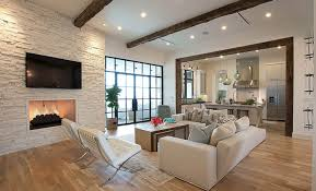 Houzz Living Room Rugs by White Brick Wall In The Interior Design Ideas For Interior