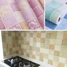 selbstklebend tapete aufkleber fliesen effekt muster küche