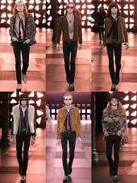 Saint Laurent Menswear Runway