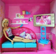 Barbie Living Room Furniture Diy by 187 Best Barbie Furniture Houses Etc Images On Pinterest
