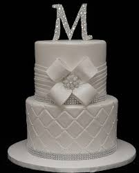 Wedding Cake Cakes Bling Beautiful Round Stand To