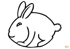 Click The Funny Easter Bunny Coloring Pages To View Printable