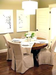 Kitchen Seat Covers Chair Back Slipcovers Large Size Of Dining Room