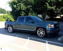 My 2014 Sierra Then & Now. Lowered On Replicas - Chevy Truck Forum ...