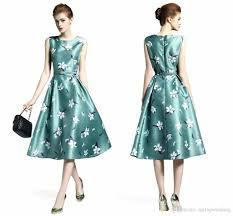 2017 summer fashion vintage women casual dresses cheap china print