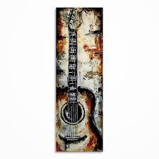 Beautiful Idea Guitar Wall Art Plus Amazon Com Large Black White Electric Canvas Pictures Multi Panel Artwork Modern Music Metal Stickers Uk