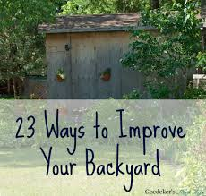 23 Ways To Improve Your Backyard - Goedeker's Home Life Michaels House Garden Improvements Gta5modscom Cheap Outdoor Kitchen Ideas Hgtv Backyard 5 Small Changes That Make Big Get Ready For Summer With These Desert Design Stupefy Cool Landscape For Your 10 Easy Entertaing Install Heathers Home Improvements Concrete Pad Backyard Fire Pit Projector Screen Movies Elite Screens Images With Gallery The Cleary Company Idea Arizona Simple Ipirations Decor Awesome Define My Best