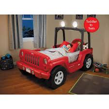 100 Little Tikes Fire Truck Toddler Bed Jeep Wrangler To Twin Convertible Red