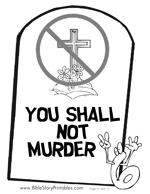 This Is A Bible Coloring Page Of The Second Commandment With Picture People Worshiping Golden Calf Teach Children That We Are Not To Value Anything