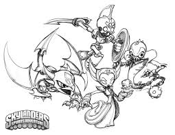Crabfu Blog Skylanders Speed Coloring Pages