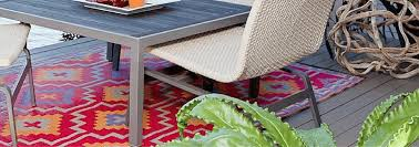 recycled plastic outdoor rugs floorsome
