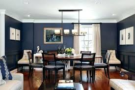 Navy Accent Wall Dining Room Blue Bedroom