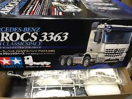 Tamiya 56348 RC Mercedes-Benz Actros - 3363 6x4 GigaSpace 1/14 Scale ...