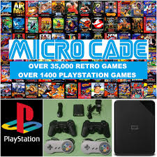 100 Spikes Game Zone Truck Mania 1TB DRIVE BUNDLE OVER 35000 RETRO GAMES AND 1400 PLAYSTATION GAMES