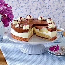 birnen schoko torte