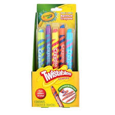 crayola twistables color swirl bathtub crayons 5 count target