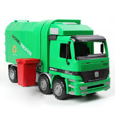 100 Rubbish Truck Large Size Children Simulation Inertia Garbage Sanitation Car