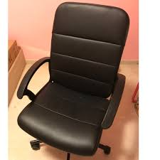 Ikea Office Chair (black Colour), Furniture, Tables & Chairs ... 12 Best Recling Office Chairs With Footrest Of 2019 The 14 Gear Patrol Black Studyoffice Chair Seat Cha Ks Pollo Chrome Base High Back Adjustable Arms Chair 1 Reserve Rolling Desk Trade Me 8 Budget Cheap Fniture Outlet Quick Sf112 New Headrest Just Give Him The Its That Easy Employer