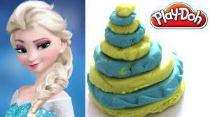 die eiskönigin partyfieber inspirierte torte i play doh
