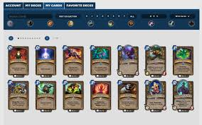 Hearthstone Deck Builder Tool by New Hearthhead Feature Card Collection Tool
