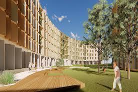100 Jcb Melbourne New Student Accommodation Underway News La Trobe University