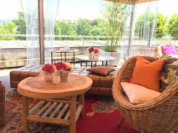 lounge tisch boho