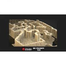 3d Dungeon Tiles Uk by Dungeon Caverns 34 Pieces U2013 Printable Scenery