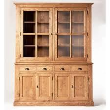 meuble cuisine vaisselier meuble vaisselier en bois massif meuble bois massif