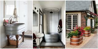 Galvanized Horse Trough Bathtub by 15 Genius Ways To Use Stock Tanks In Your Home And Backyard