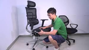 Hyken Mesh Chair Manual by Ikayaa Multi Function Adjustable Mesh Ergonomic Office Chair Youtube