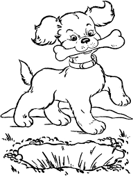 Inspiration Graphic Dog Bones Coloring Pages