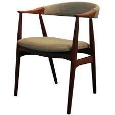 Vintage Teak Dining Armchairs