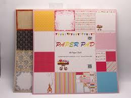 Full Color Scrapbook Paper Pad