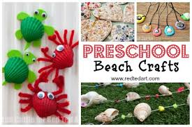 Summer Crafts For Toddlers And Preschoolers Great Kindergarten To Do With Little