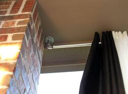 Twist And Fit Curtain Rod Walmart by Curtain Rods For Corner Windows Lowes U2014 Modern Home Interiors