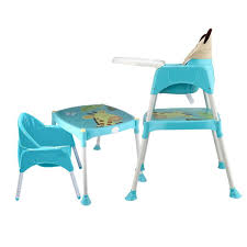 4 In 1 Portable Multi-functional Baby Simple Dinner Table High Chair  Non-slip