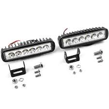 2pcs 18W Flood LED Light Rectangle Bar Offroad Lights 4WD LED ... Poppap 300w Light Bar For Cars Trucks Boat Jeep Off Road Lights Automotive Lighting Headlights Tail Leds Bulbs Caridcom Lll203flush 3 Inch Flush Mount 20 Watt Lifetime 4pcs Led Pods Flood 5 24w 2400lm Fog Work 4x 27w Cree For Truck Offroad Tractor Wiring In Dodge Diesel Resource Forums Best Wrangler All Your Outdoor 145 55w 5400 Lumens Super Bright Nilight 2pcs 18w Led Yitamotor 42 400w Curved Spot Combo Offroad Ford Ranger