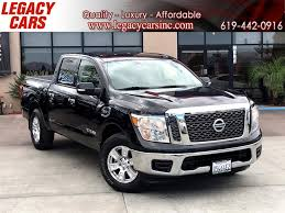 100 Backup Camera For Truck Used 2017 Nissan Titan SV W Bluetooth CREW CAB In El Cajon