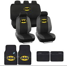 100 Batman Truck Accessories Classic Seat Covers Floor Mats Set 13pc Universal Fit